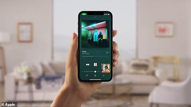 SharePlay is also a new update that allows users to enjoy the same movie or music using just their iPhone or iPad. The feature is compatible with Apple TV and Apple Music, along with content from Disney+, Hulu, HBO Max, Twitch, TikTok and more