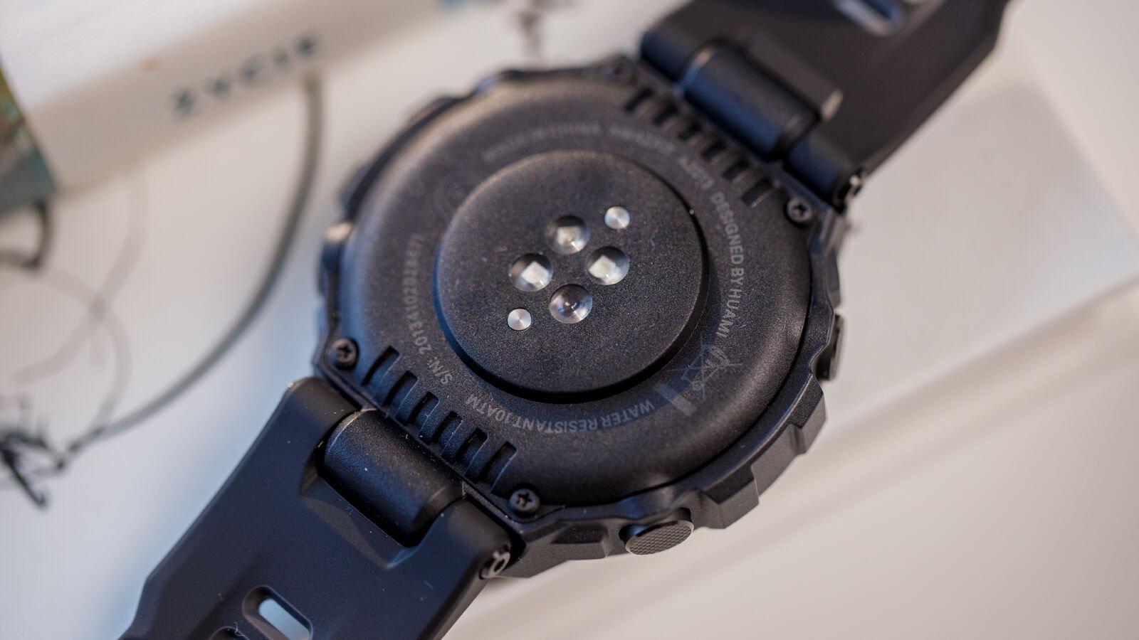 Amazfit T-Rex Pro PPG sensor