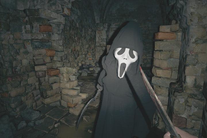 Resident Evil Village Ghostface Mod