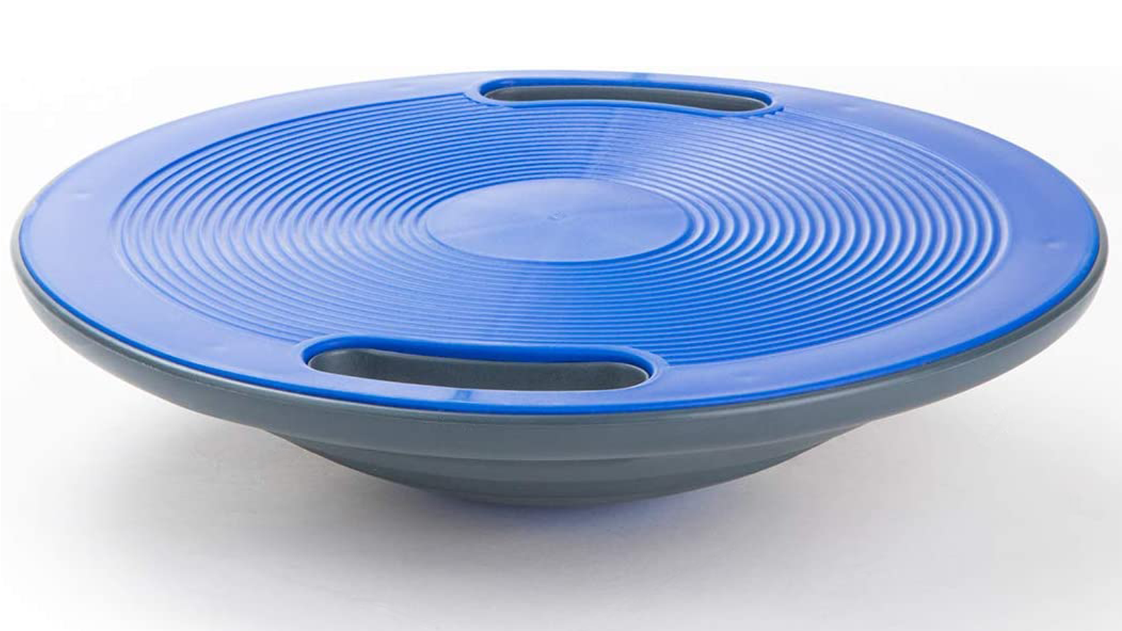 Small wobble balance board with handles
