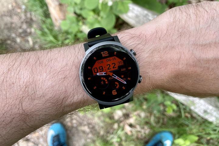 TicWatch E3 alternative watch face