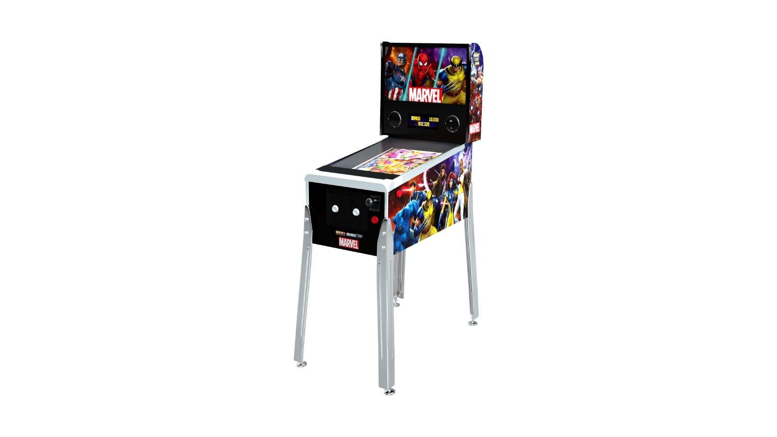 Arcade1Up Marvel Pinball machine