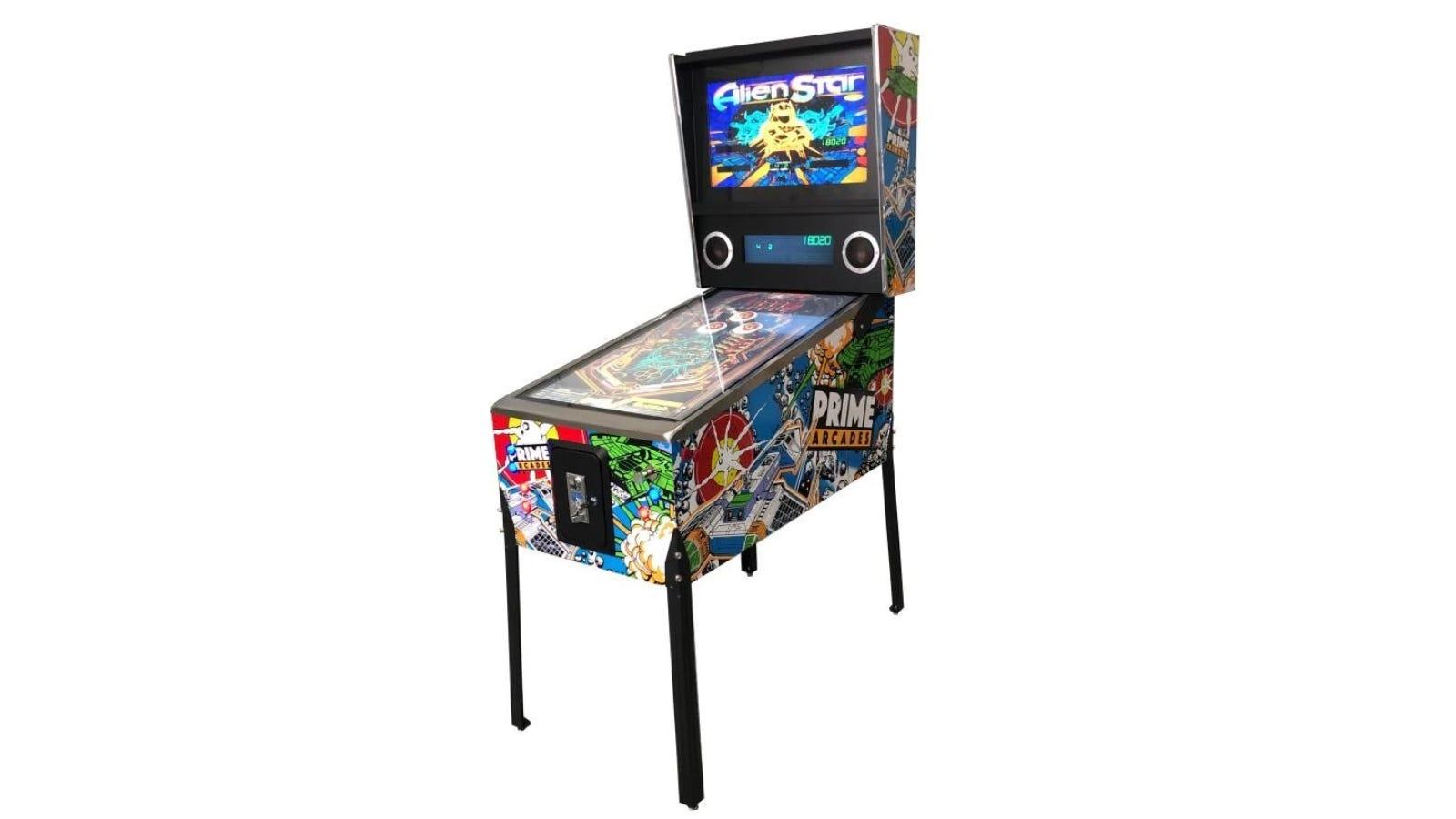 Prime Arcades Digital Pinball machine