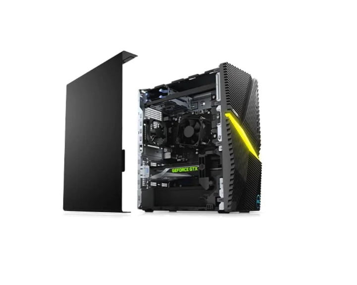 Dell G5 Gaming Desktop with side off
