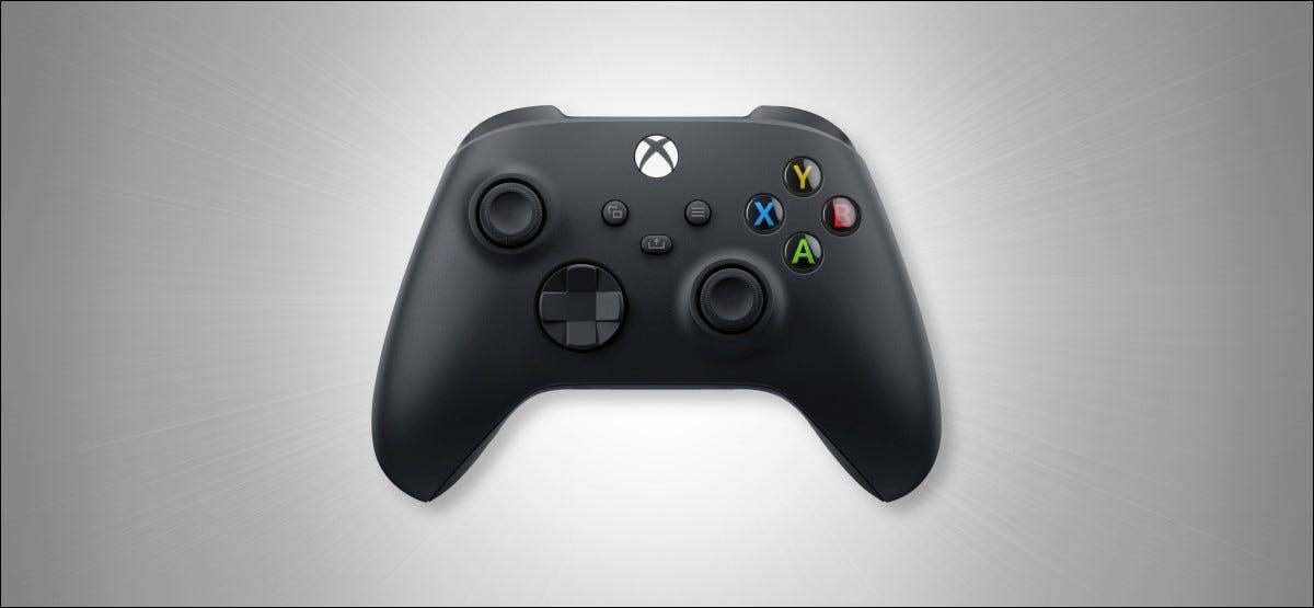 An Xbox Wireless Controller on Grey Hero