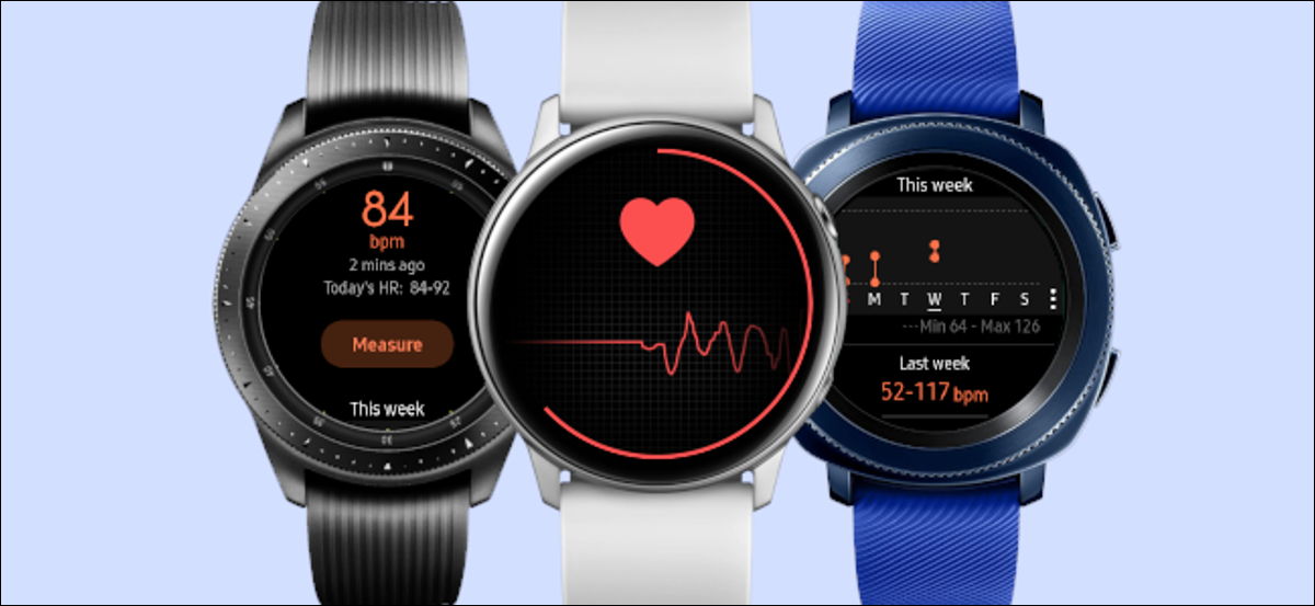 samsung galaxy watch heart rate