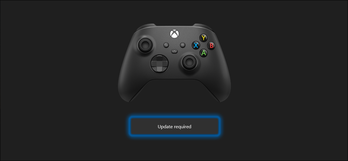 Xbox Wireless Controller can be updated using a Windows 10 PC