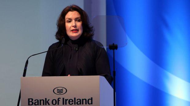 CEO of Bank of Ireland, Francesca McDonagh.