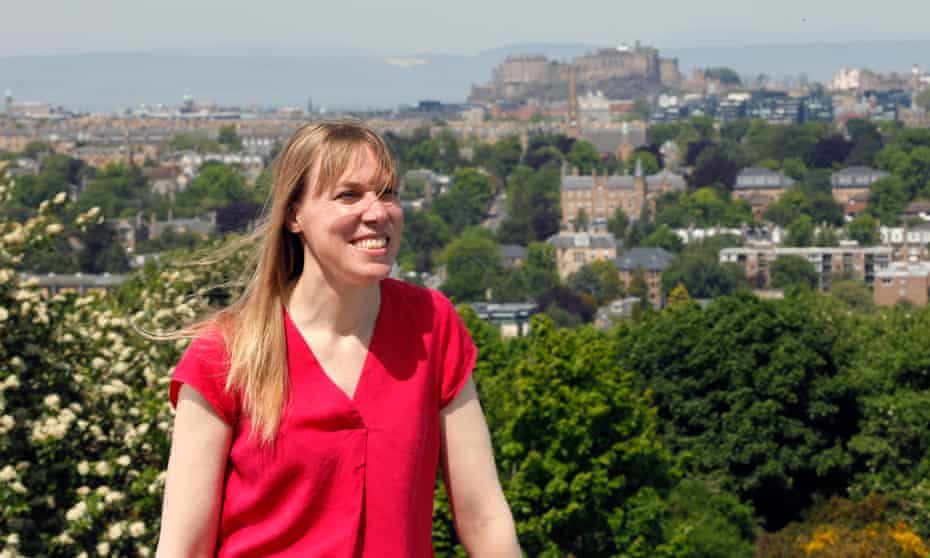 Prof Catherine Heymans in Edinburgh