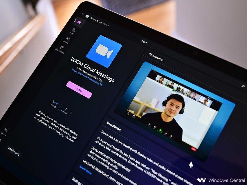 Zoom App Windows 11 Store