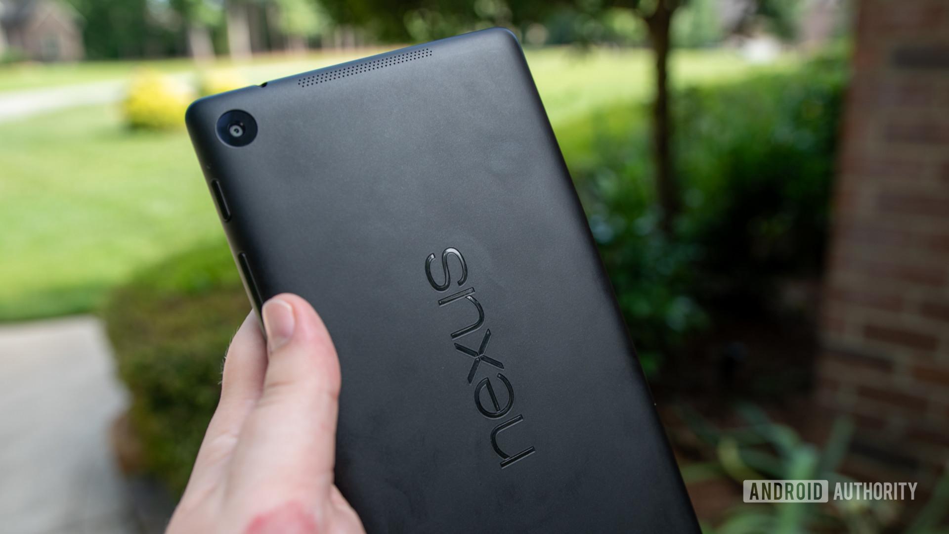 Google Nexus 7 Rear Camera