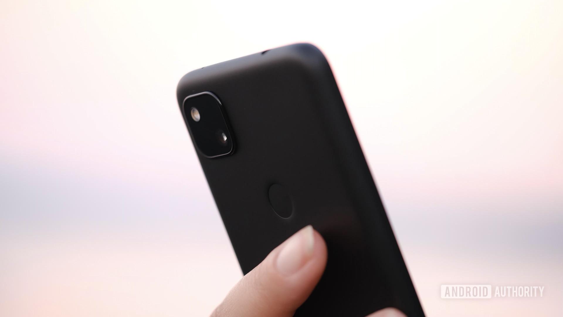 Google Pixel 4a fingerprint reader and camera macro 1