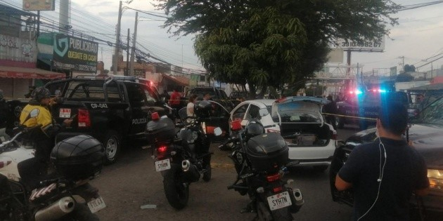 Security in Jalisco: They shoot at the state police in Tonala and end up in custody