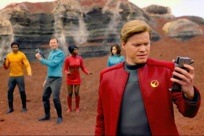 Jesse Plemons in a scene from 'Black Mirror'