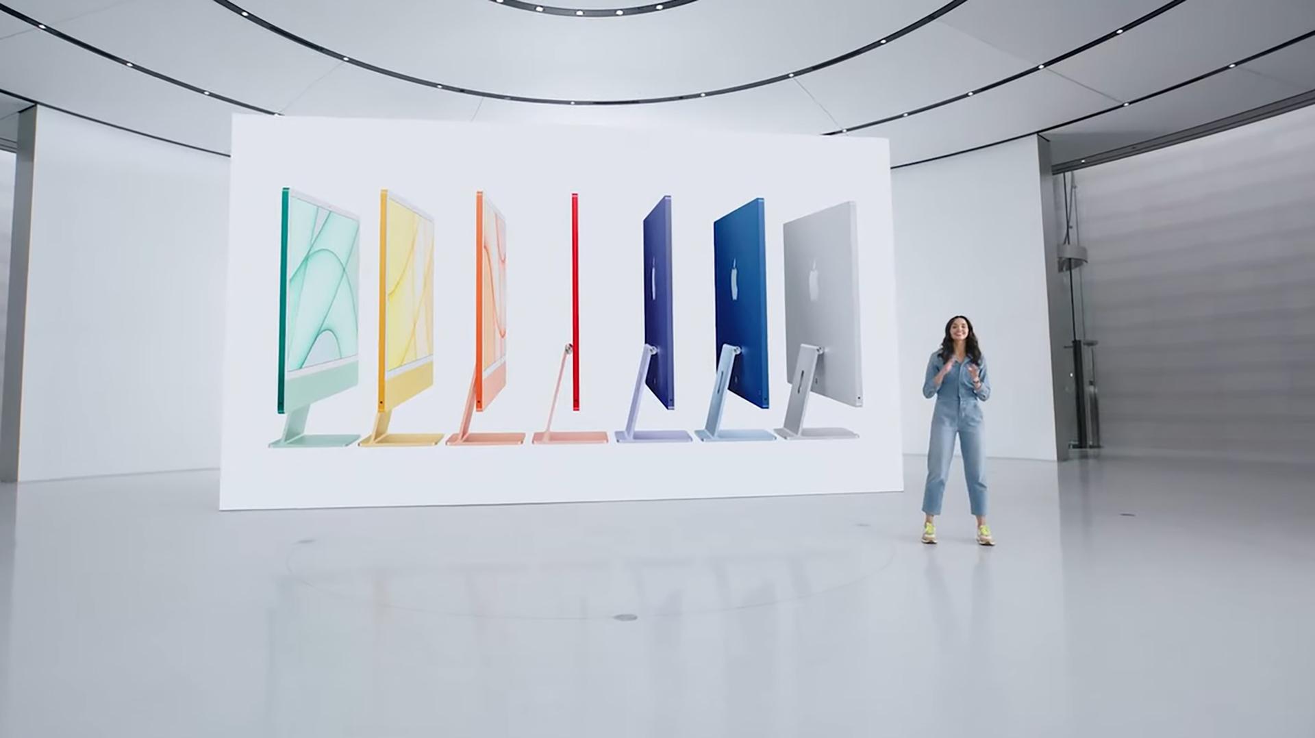 Apple April 2021 event iMac