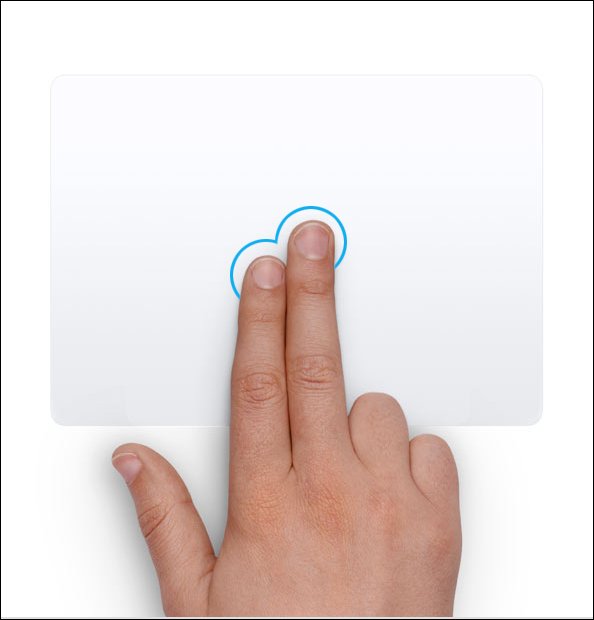 How to make a right-click on MacBook trackpad or Magic trackpad
