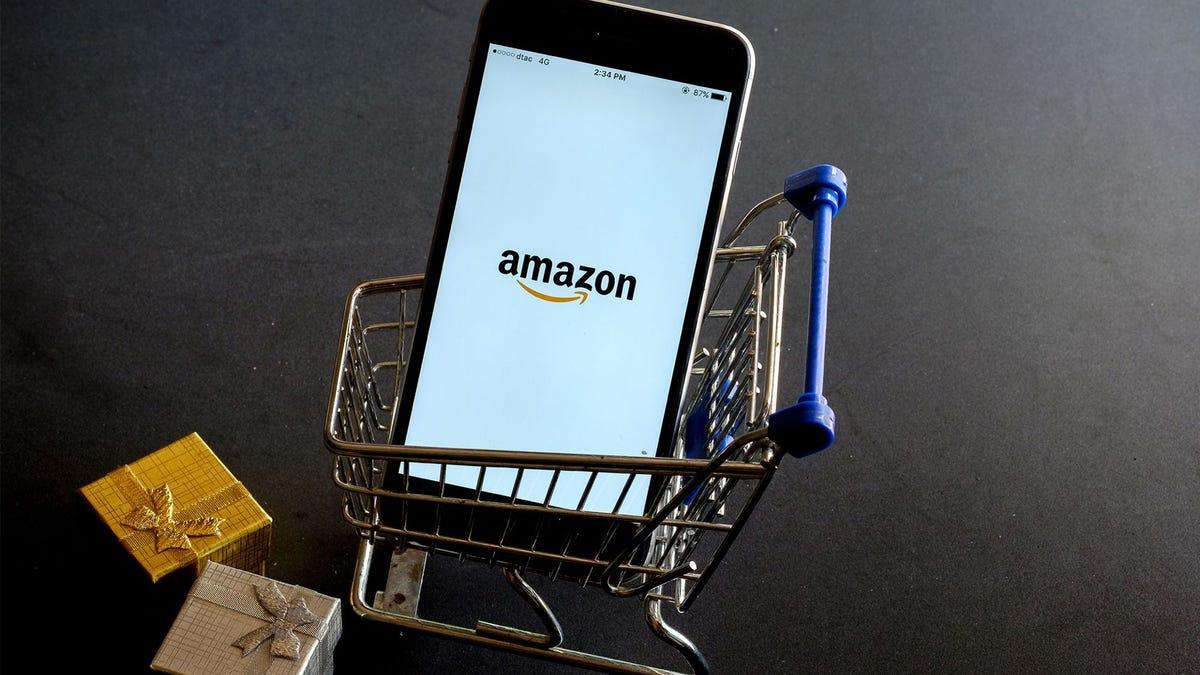 Amazon shopping cart department store