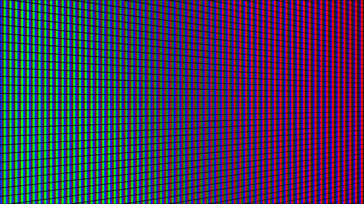 Closeup of LED screen texture