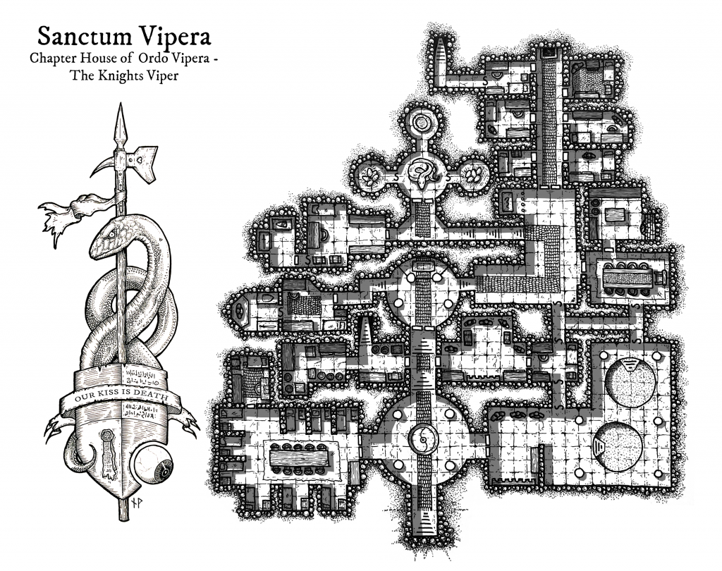 Sanctum Vipera - chapter house of the Knights Viper