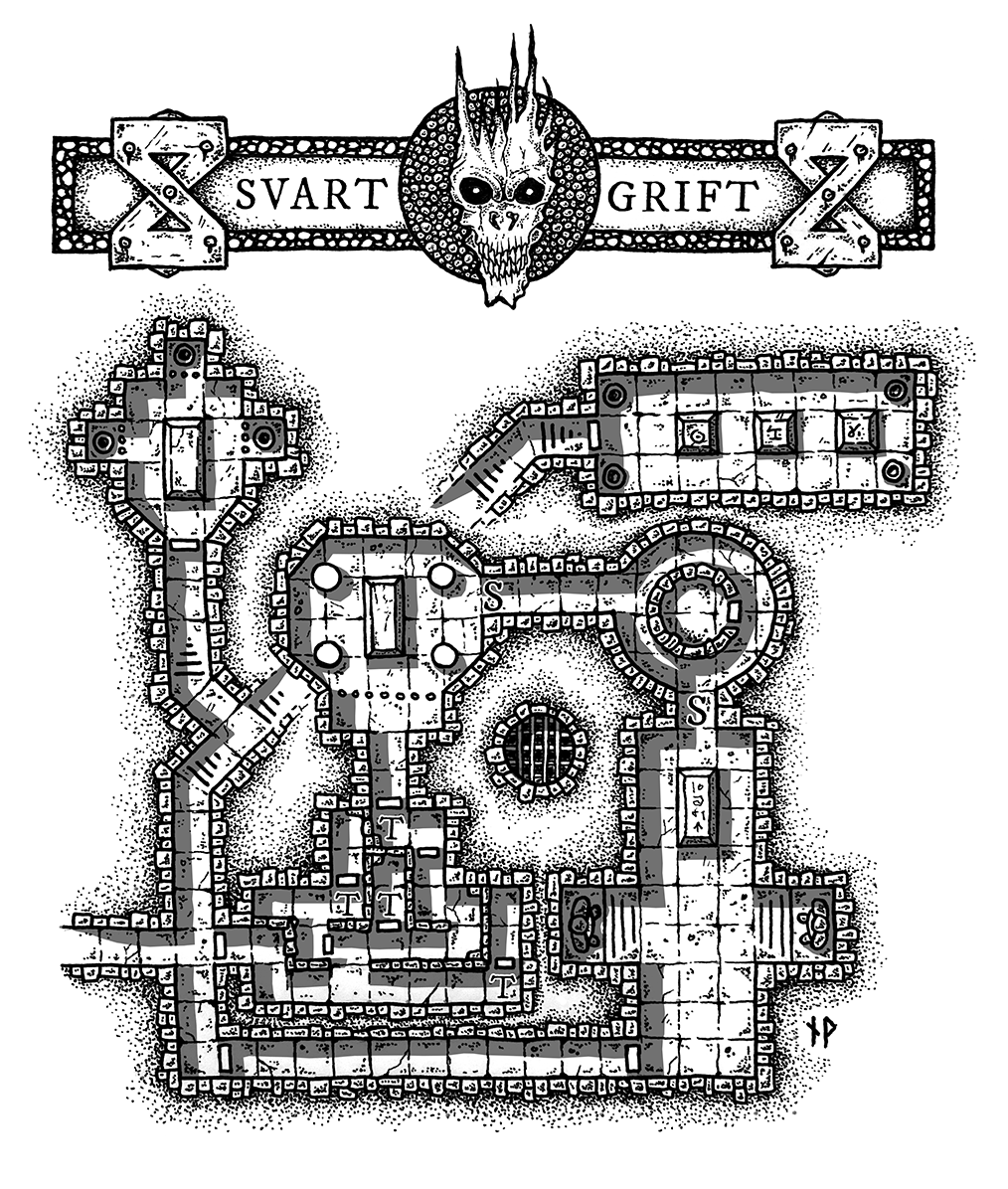 SVART GRIFT - ancient tomb dungeon map - Paths Peculiar on mining maps, battle maps, two worlds ii maps, dnd maps, keep maps, gaming maps, sword maps, star trek maps, the rise of runelords maps, dungeons dragons, orontius finaeus maps, wilderness map, rpg maps, food maps, special maps, city maps, world maps, iron curtain borders maps, detente maps, pathfinder d maps, star wars role-playing maps, dragon maps, baldur's gate maps, town maps, d&d maps, classic maps,