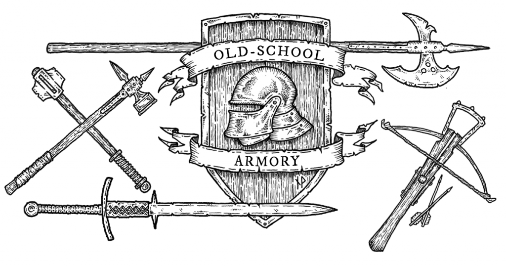 Old-school armory facebook image