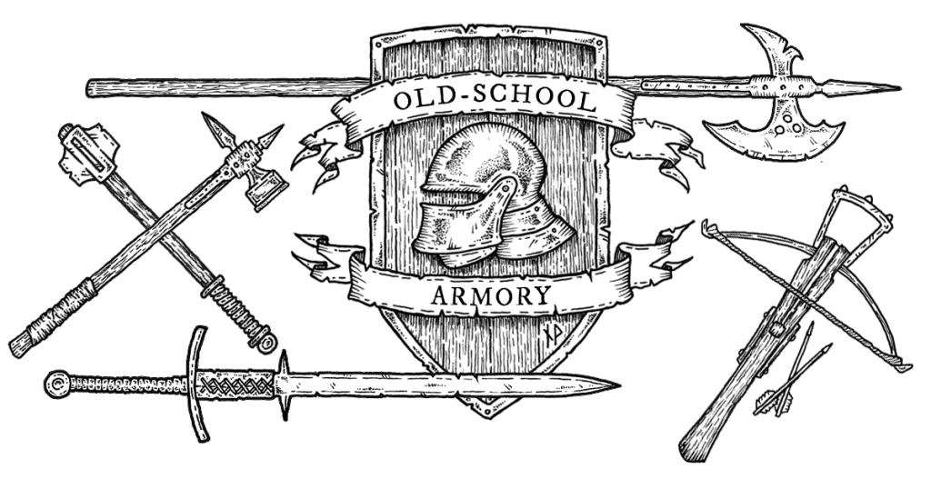 Old-school armory facebook image