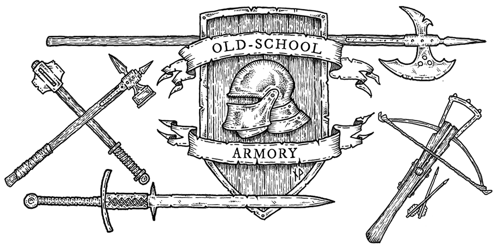 Old-school armory twitter image