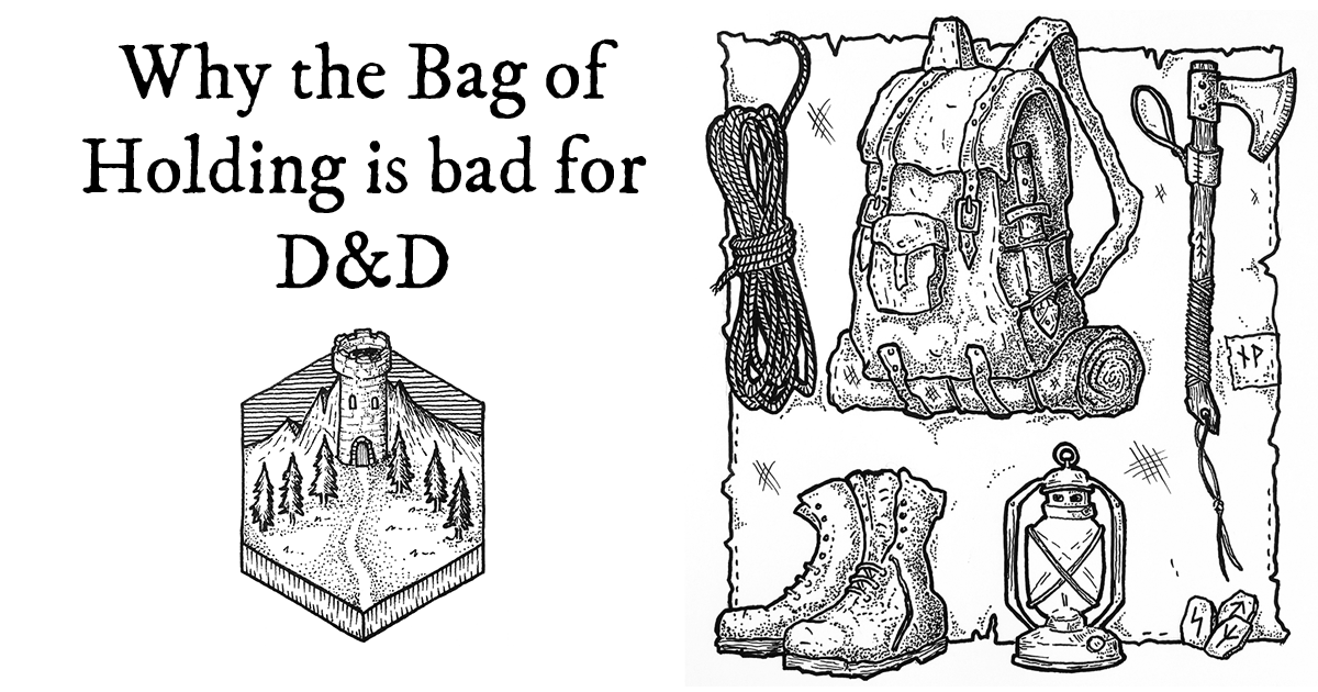 The bag of holding is a bad magic item