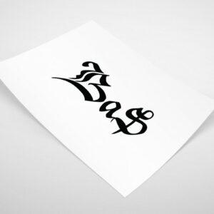 Tattoo ontwerp