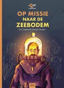 Boekcover op missie naar de zeebodem