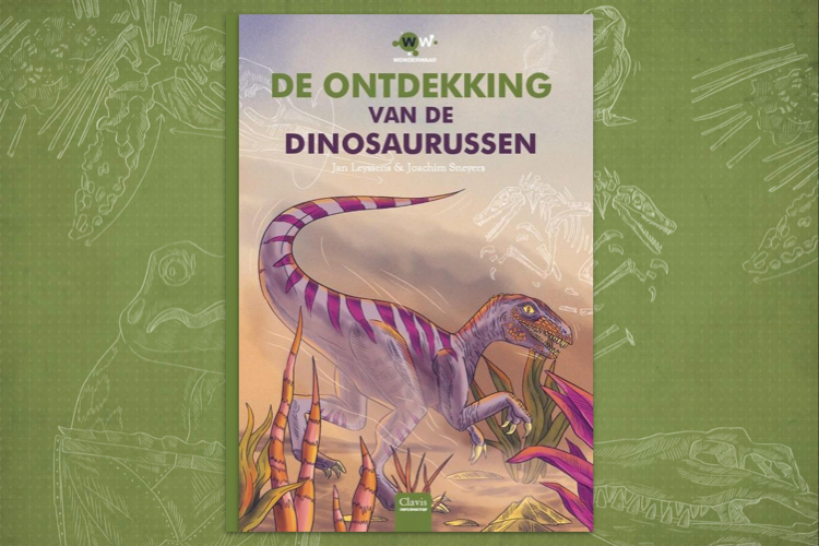 Boekcover de ontdekking van de dinosaurussen