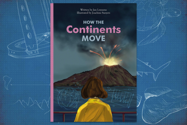 How the continents move bookcover