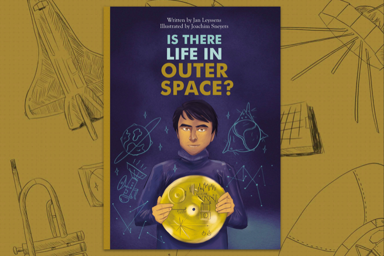 "Bookcover ""Is there life in outer space?"""