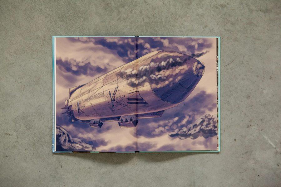 Illustratie - Tocht naar de Noordpool