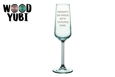 Champagneglas Proost