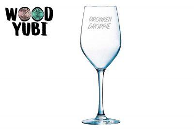 Wijnglas Dronken Droppie