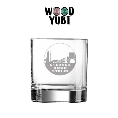 Whiskeyglas Rotterdam Sterker door Strijd