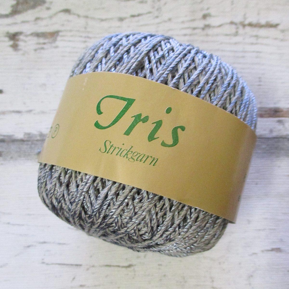 Wolle Strickgarn Iris 67%Viskose 33umwolle Farbe_19 grau - Woolnerd