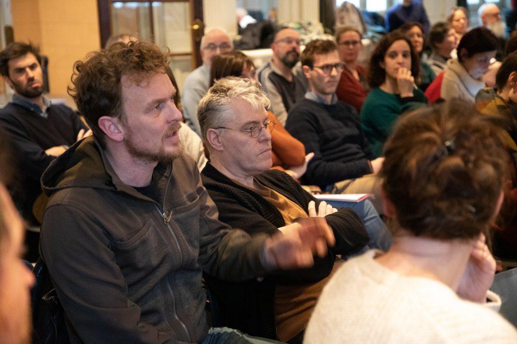 Vragenronde tijdens de lancering van de Woonzaak