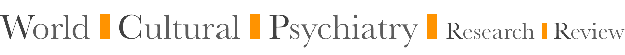 World Cultural Psychiatry