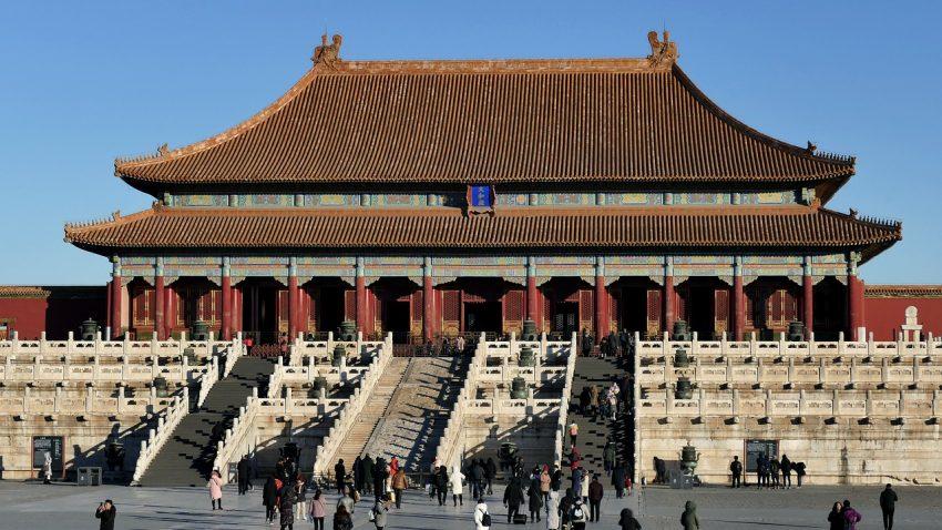 Beijing; förbjudna staden