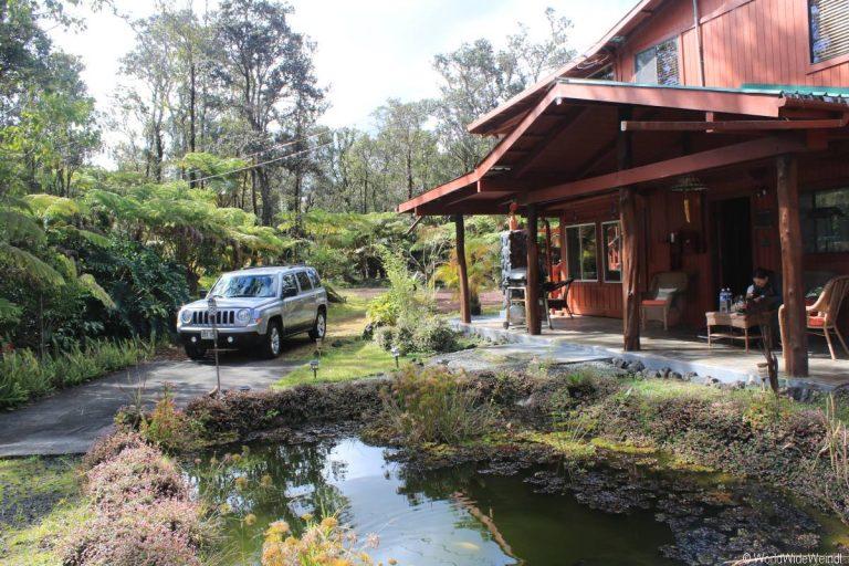 Big Island 227- Volcanos National park Unterkunft