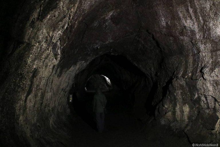 Big Island 235- Volcanos Nationalpark Lava Tube