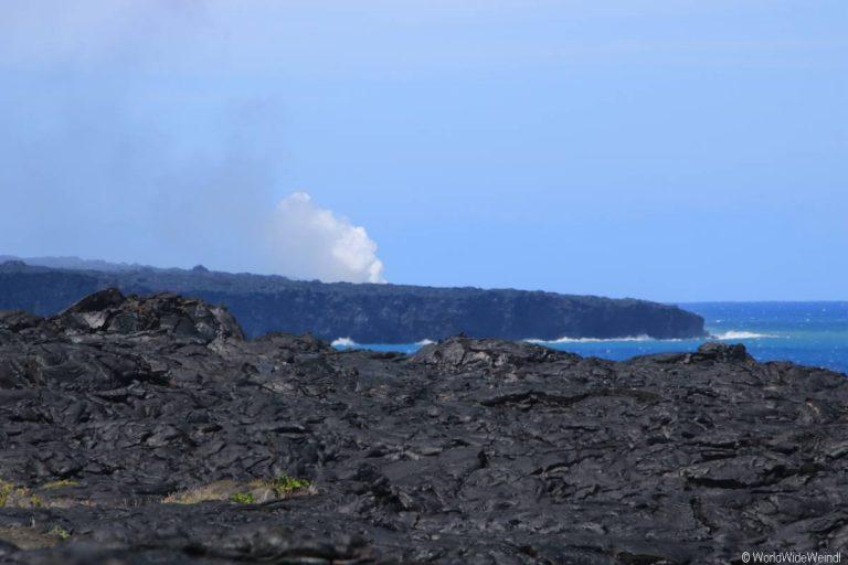 Big Island 295- Volcanos Nationalpark Lava flow