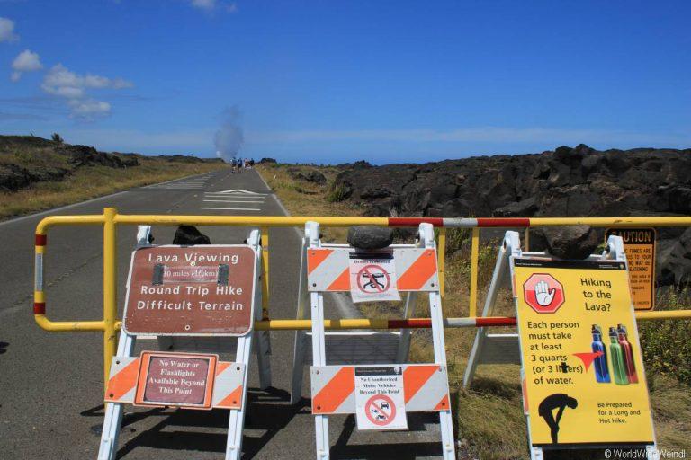 Big Island 330- Volcanos Nationalpark Lava trail