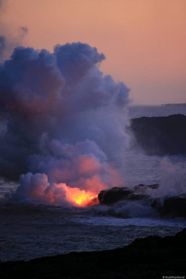 Big Island 395- Volcanos Nationalpark lava flow