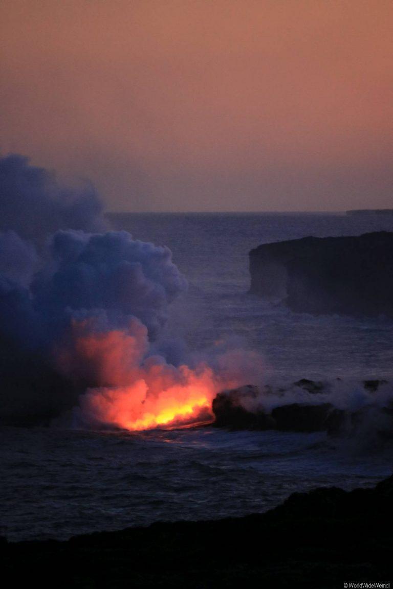 Big Island 400- Volcanos Nationalpark lava flow
