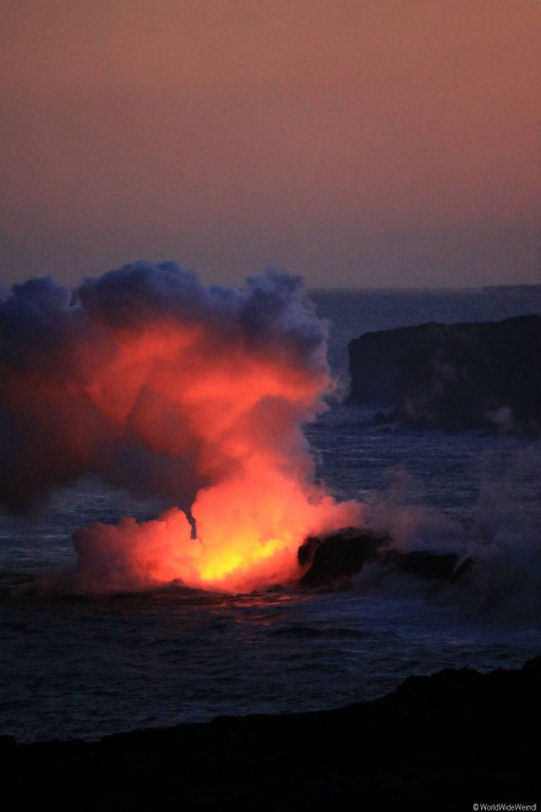 Big Island 410- Volcanos Nationalpark lava flow