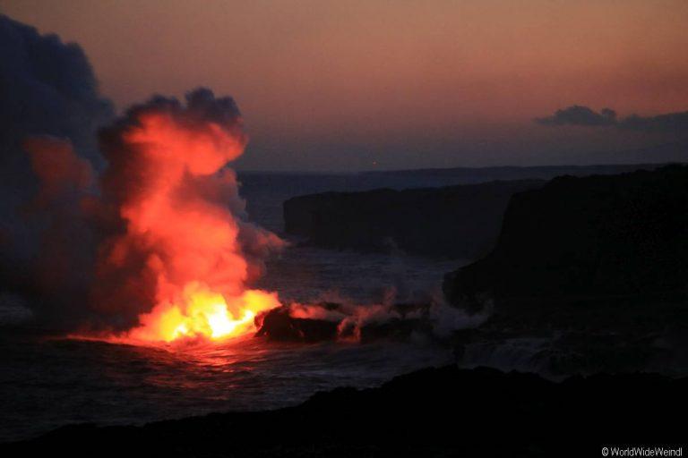 Big Island 455- Volcanos Nationalpark lava flow