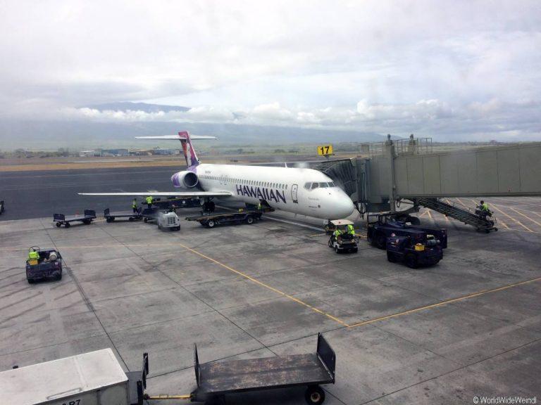 Big Island 70- Flugzeug